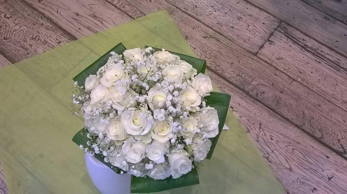 Bouquet Sposa Milano.Bouquet Da Sposa Tondo Di Fiorito Milano Foto 4