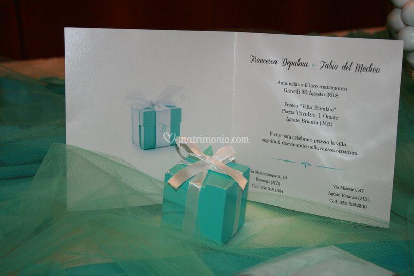 Partecipazione, tema Tiffany