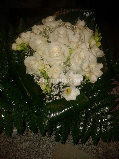 Bouquet Rose e Fresia