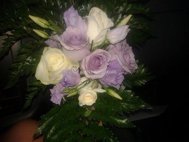 Bouquet Rose e Lisianthus