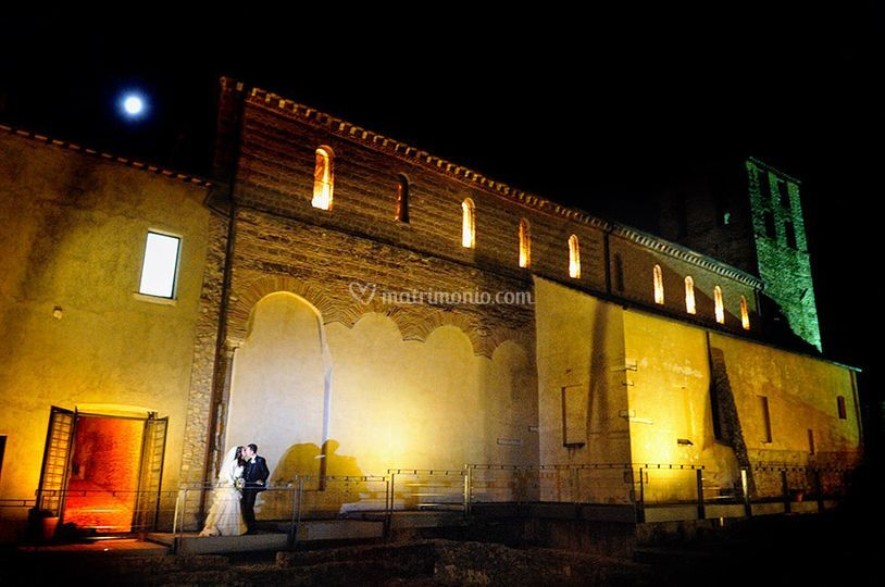 Chiesa esterno sera