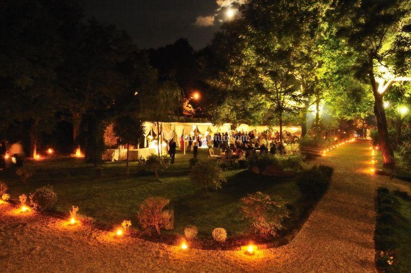 Notturno giardino