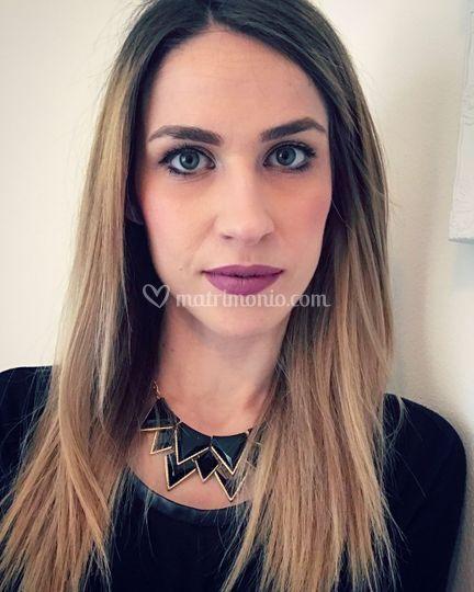 Makeup con focus labbra/eyelin
