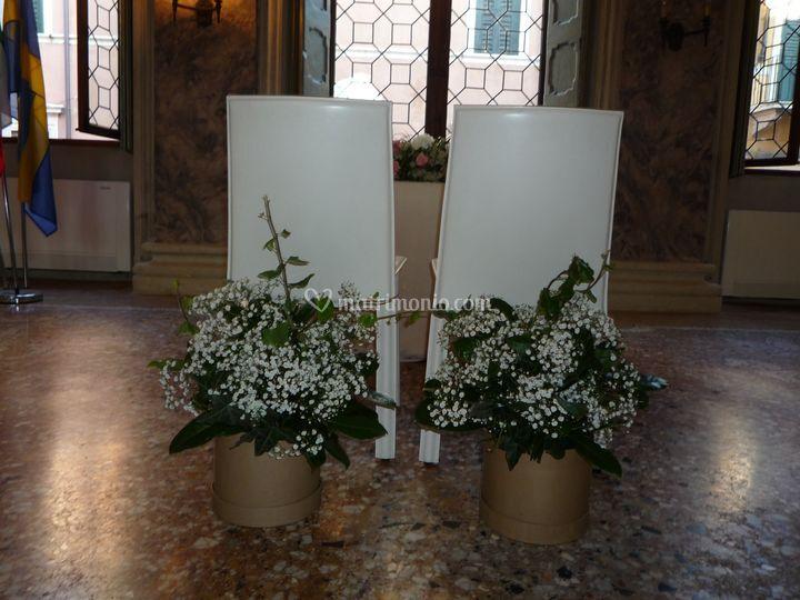 Composizioni Con Velo Di Sposa Di Di Sana Pianta Foto 6