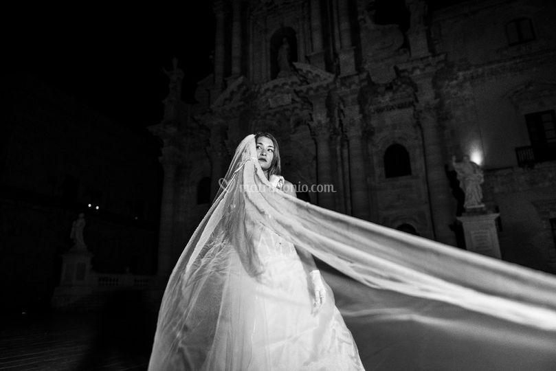 Bride in ortigia