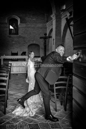 Lo sposo convinto.....