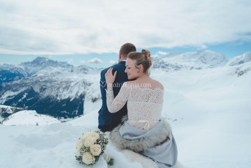 Matrimonio Inverno Alta Badia