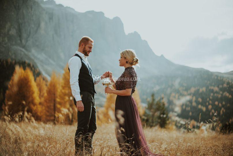 Wedding Photographer Dolomites