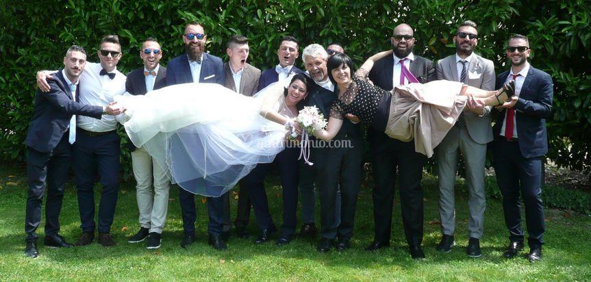 Sposi e invitati meravigliosi