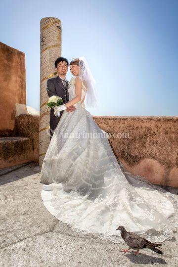 Wedding photo amalfi coast