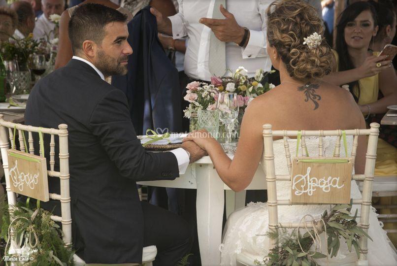 Sposi - matrimonio rustico