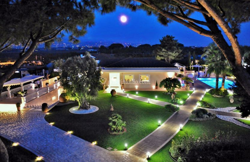 Villa Demetra - Vista Aerea di Villa Demetra Ricevimenti