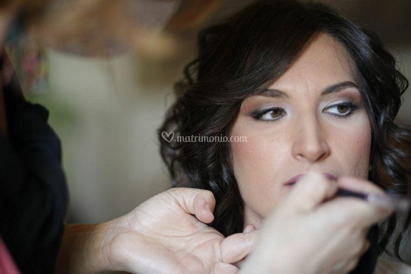 Fissaggio labbra