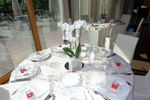 Allestimento tavolo per nozze