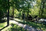 Giardino e vialetti a Mariano