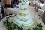 Croce di malta wedding cake
