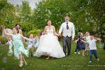 Giochi di nozze in giardino