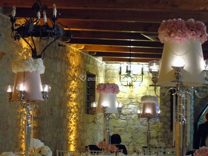 Lumi nella Sala Angelica