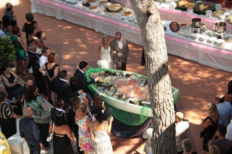 Presentazion agli sposi buffet