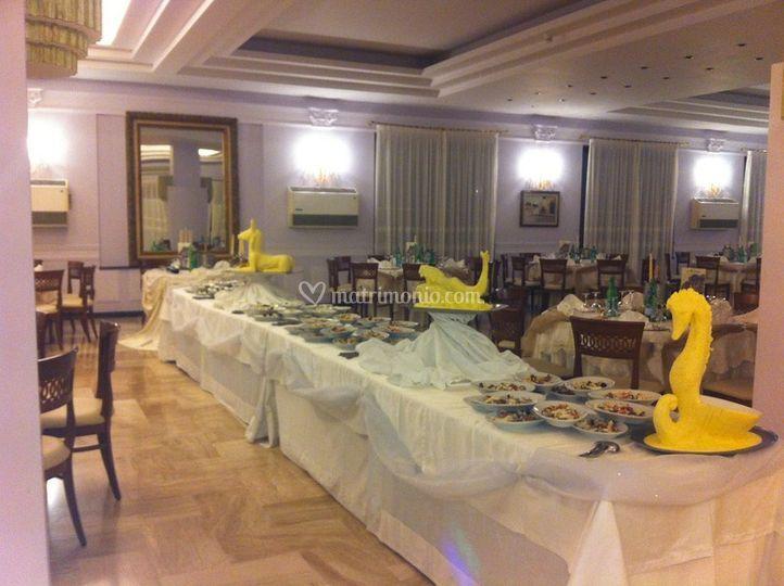 Buffet in sala