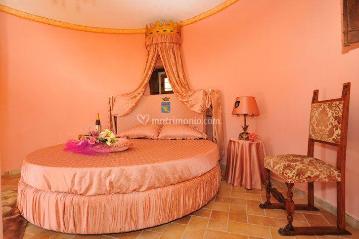 Rocca dei Cavalieri - La suite rosa