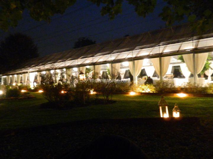 Notturno con lanterne