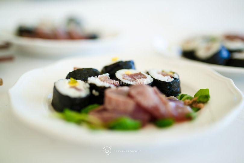 Sushi antipasto