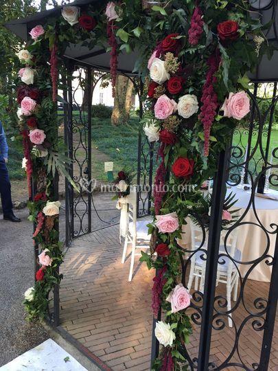 Villa Aquaroli Rose inglesi