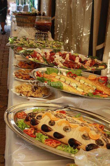 Buffet Di Pesce Di Ristorante Tre Archi Foto 25