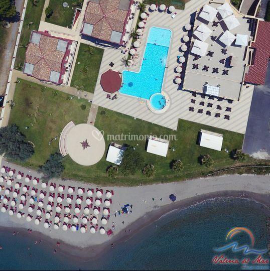 Posizione Hotel Valeria del Ma
