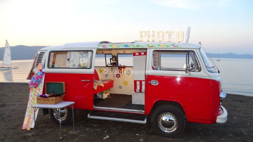 VW Bulli anni 70