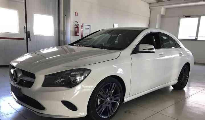 Mercedes cla coupe