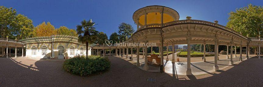 Colonnato cupola Marazzi