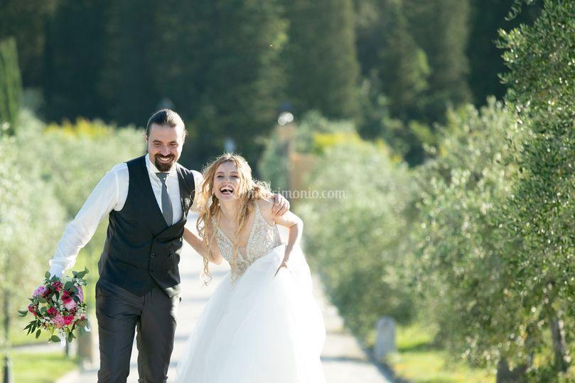 Matrimonio a vinci