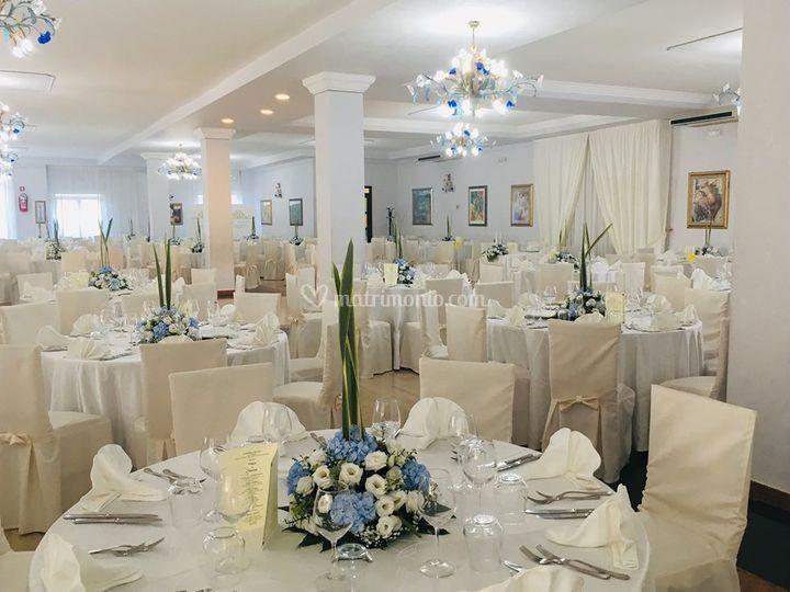 Sala in Bianco