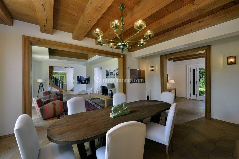 Villa amagioia for Progetti di case ranch contemporanee