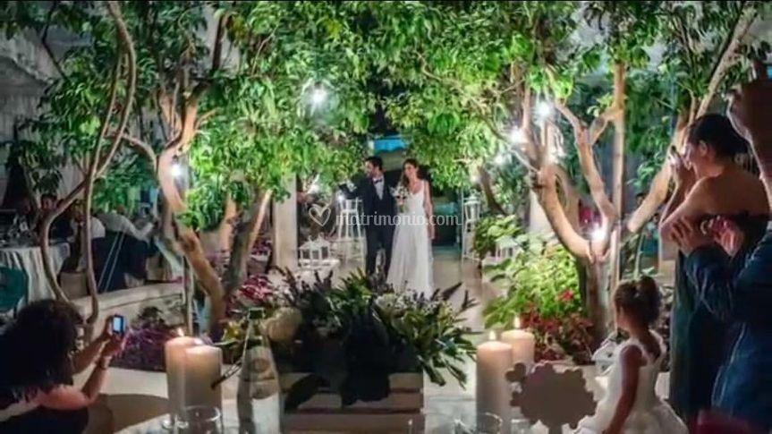 Matrimonio in giardino!