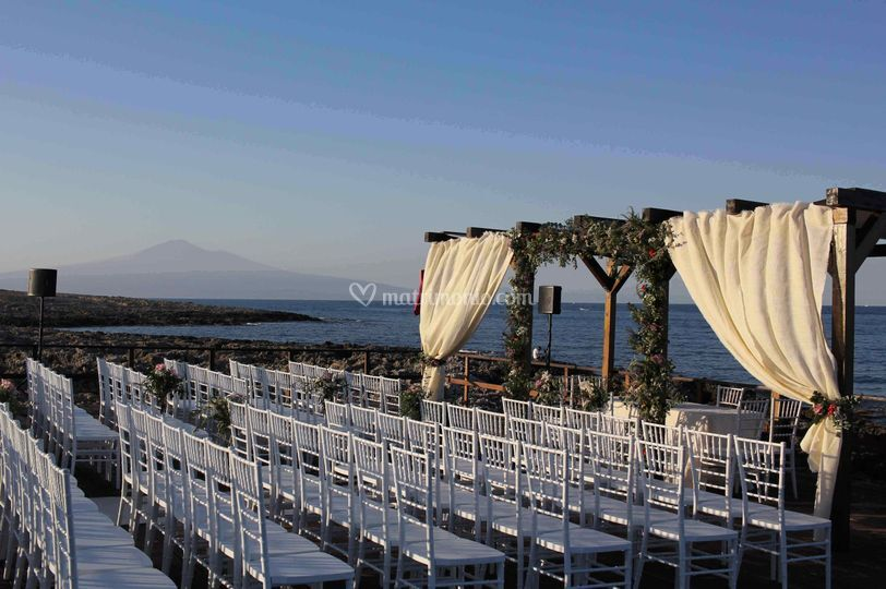 Cerimonia in Riva al Mare