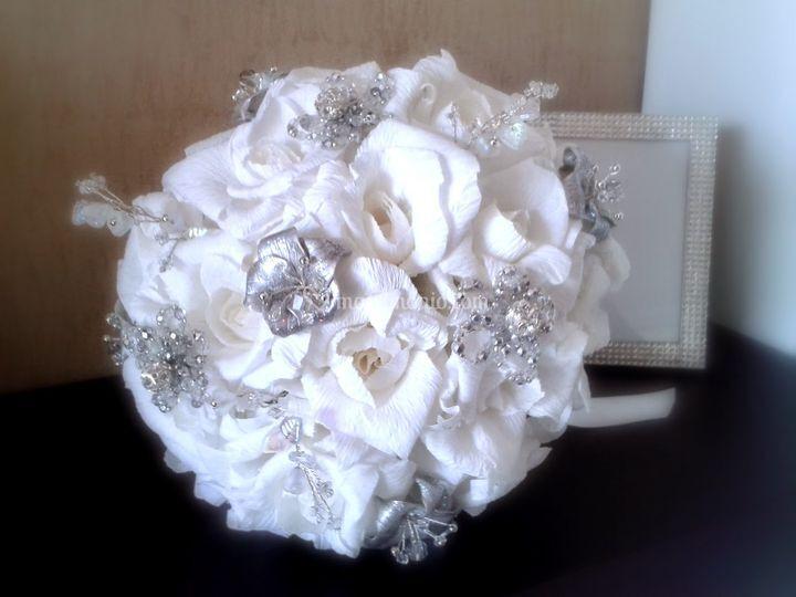 Bouquet gioiello di DiSalvo Creazioni