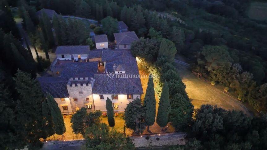 Castello di Fezzana Notte