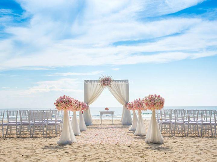 Samsara Beach Wedding