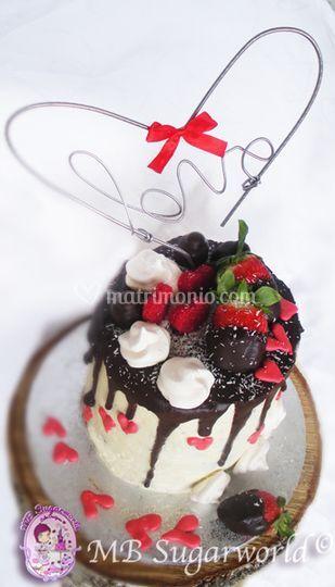 Drip Wedding cake 2