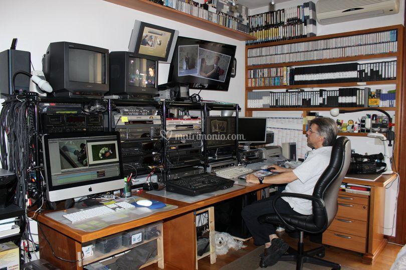 In studio video