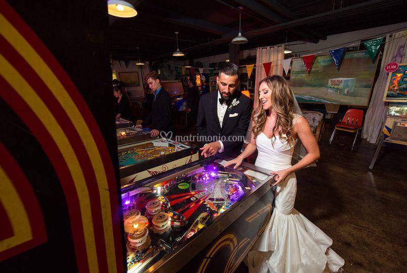 Flipper e Videogioco Matrimoni