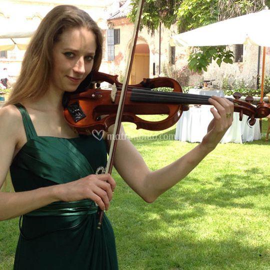 Violinista per le nozze