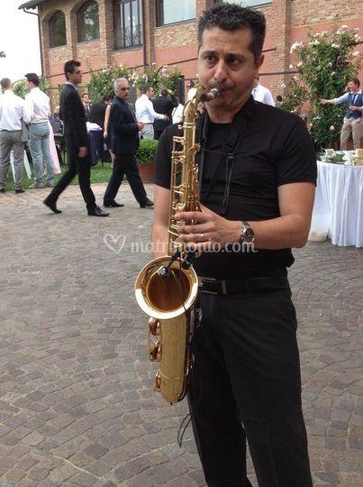 Sax per aperitivo Musicale