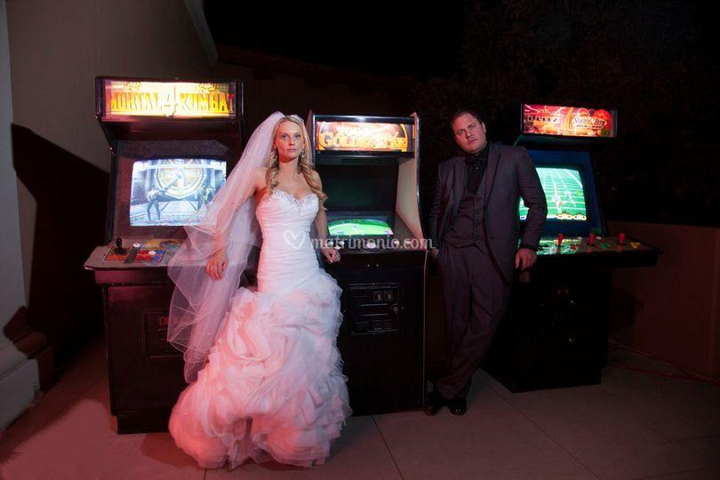 Cabinato arcade per Matrimonio