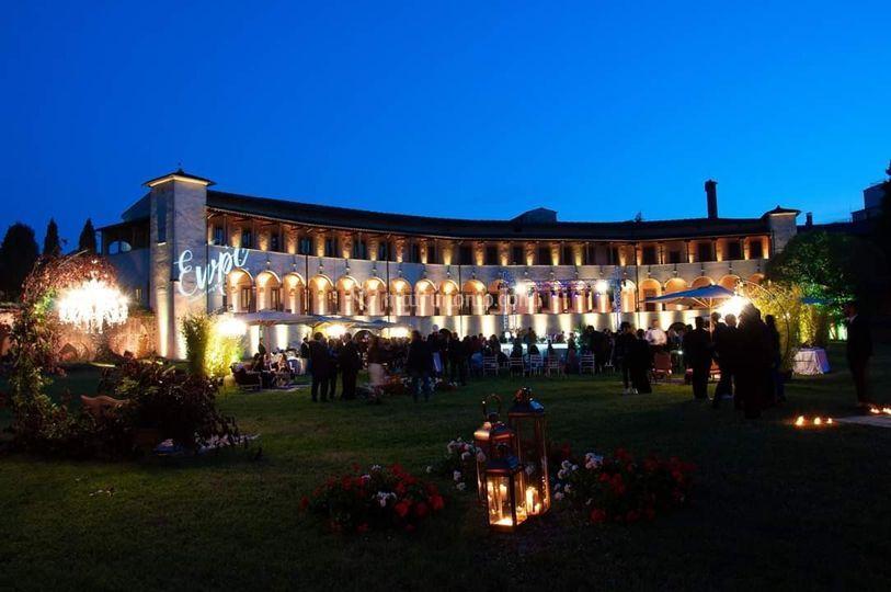 Romanic amphitheater event