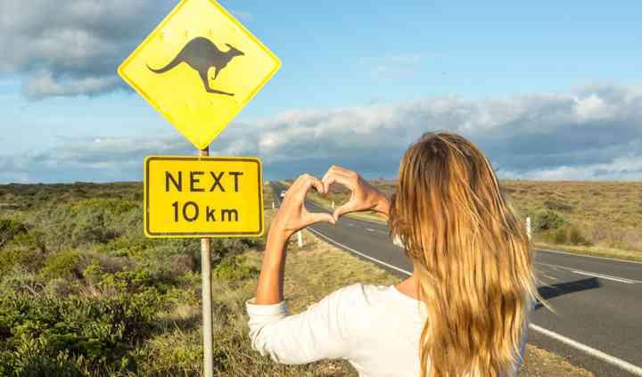 Australia on the road
