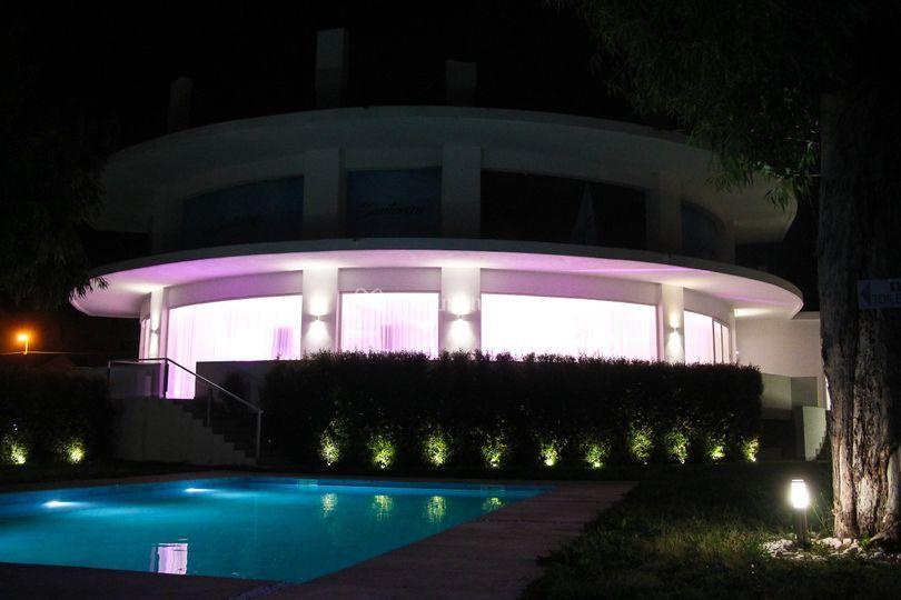 Panoramica esterna piscina